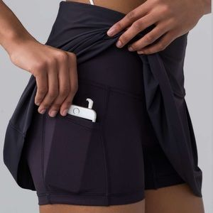 Lululemon Lost In Pace Skirt 10 T NWT  Boysenberry